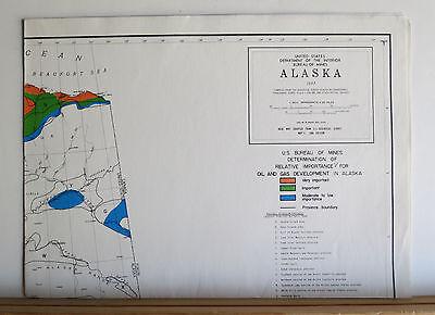 Alaska's Mineral Potential 1978 Oil Gas Geothermal Uranium Metals Coal 8 Maps 12