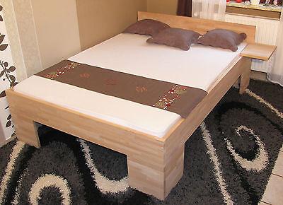 massivholzbett 140x200 fu ii doppelbett buche g stebett futonbett schlafzimmer eur 169 00. Black Bedroom Furniture Sets. Home Design Ideas