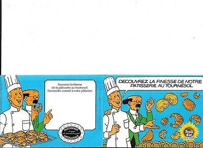 Tintin Fruit d'or - Professeur Tournesol - 1985 - original - 10 cm x 15 cm