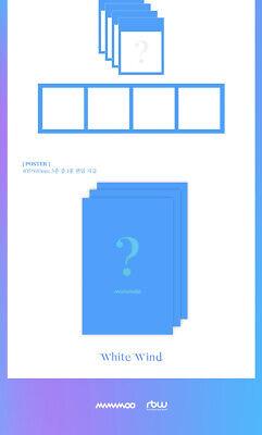 MAMAMOO [WHITE WIND] 9th Mini Album CD+POSTER+Photo Book+2p Card+Frame SEALED 10