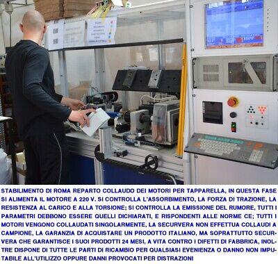 Motori Tapparella Elettrica 220 V 20/30 Nm Serranda Avvolgibile Da 40 Kg E 60 Kg 8