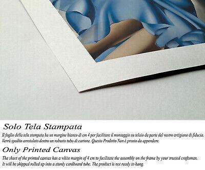 🎻 Quadro Tamara de Lempicka Donna con Mandolino Stampa su Tela Effetto Dipinto 2