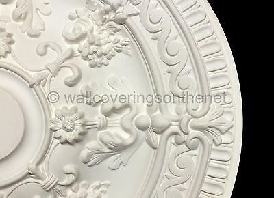 66cm Diameter, Lightweight Ceiling Rose (made of strong resin not polystyrene) 6