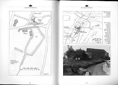 Moulins en Hainaut Hannonia  Mühlengeschichte Müller Windmühlen Mühlentechnik 7