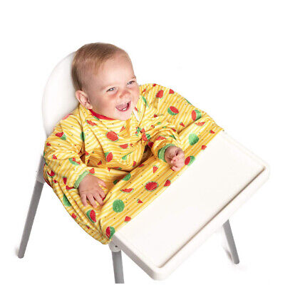 BIBaDO Catch it All, Cover All Full Cover Baby Led Weaning Bib 9