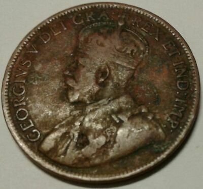1919 CANADA ONE CENT Coin 2