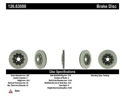 Centric Parts 117.62051 Brake Disc Hardware