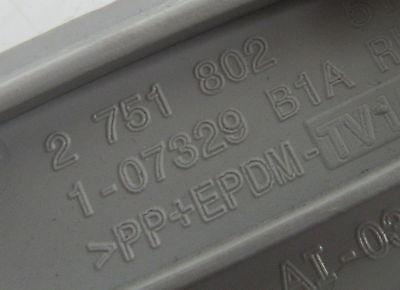 Genuine MINI O//S Drivers Grey Airbag Cover Cap C-Pillar R55 R56 /& LCI 2751802