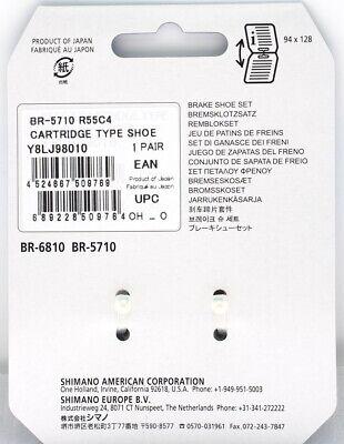 Shimano R55C4 BR-5710 Cartridge Brake Shoes Pads Set fits BR-6810/9010..READ 2