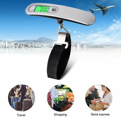 Portable Travel LCD Digital Hanging Luggage Scale Electronic Weight 110lb / 50kg 2