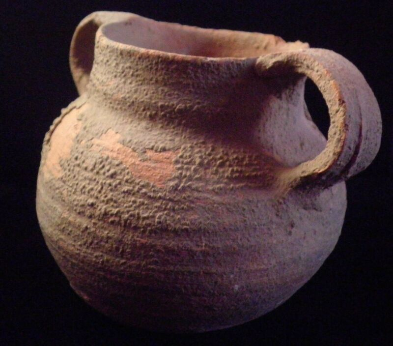 Herodian Terracotta Cooking Pot   50 BC - 150 CE Ancient Pottery 7