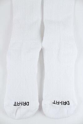 Nike Dri-Fit Plus Cushion Crew Socks 3-Pair White Training Us Men Shoe Size 6-15 2