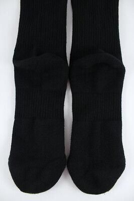 Nike Dri-Fit Plus Cushion Crew Socks 3-Pair Black Training Us Men Shoe Size 6-15 3