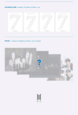 BTS [MAP Of THE SOUL:7] Album CD+POSTER+Photo Book+Book+Card+Sticker+etc+GIFT 11