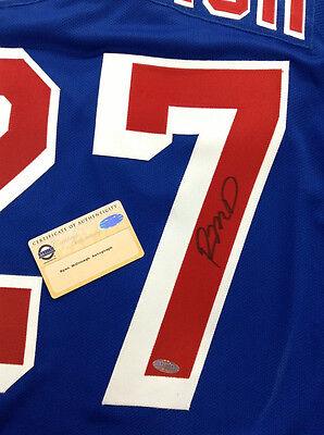 a23f39ab445 ... RYAN McDONAGH SIGNED NEW YORK RANGERS PREMIER BLUE JERSEY STEINER COA 2