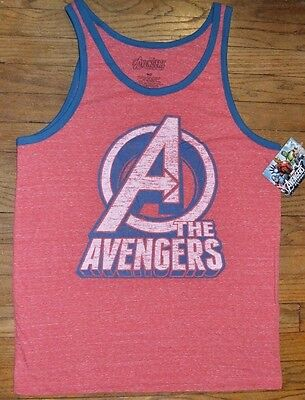 8fd55f3471edeb ... Marvel Avengers Assemble Tank Top Men s Sleeveless T-Shirt Captain  America 2