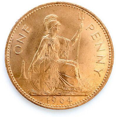 1953 To 1967 Elizabeth Ii Penny / Pennies Choice Of Year / Date 2