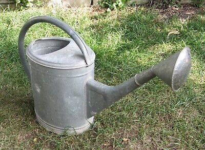 Gießkanne Giesskanne Gärtnerkanne (Blech verzinkt ; ca. 9-10 Liter) Watering Can 6