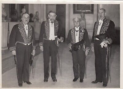Académie de Médecine, 2 photos argentiques Meurisse circa 1932 2