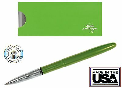 Fisher Space Pen #400LG / Lime Green Lacquered Bullet Space Pen 6