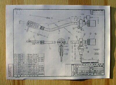 "optimized for 12/"" LPs L78//S /& L78//SE Lenco L75//S L76//S Tonearm Protractor"
