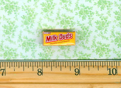Dollhouse MINIATURE Size Milk Duds Candy Box