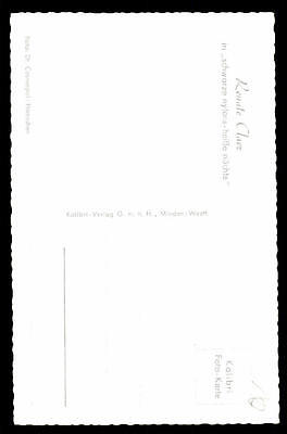 Renate Claer Kolibri Autogrammkarte Original Signiert ## BC 20949
