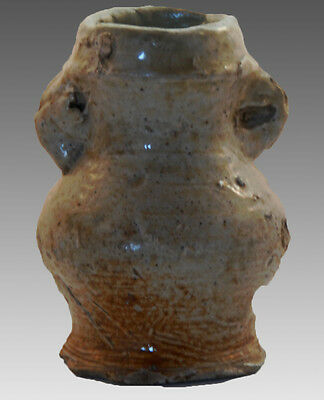 Germany 16th century Raeren stoneware two handled jar 2