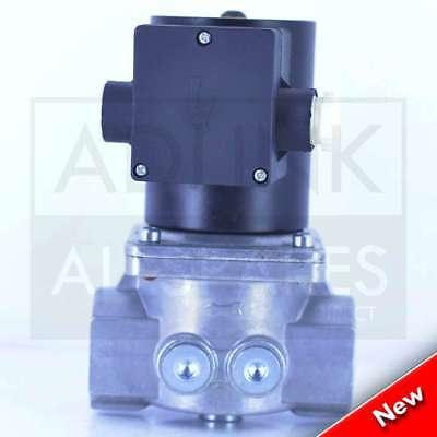 """Gas Solenoid Valve 1"""" for Gas Interlock System Shut Off Kitchen Canopy 28mm 2"""