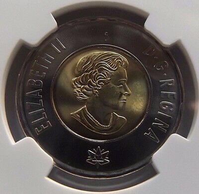 2017 Canada Ngc First Releases Ms66 Dance Of The Spirits Toonie $2!