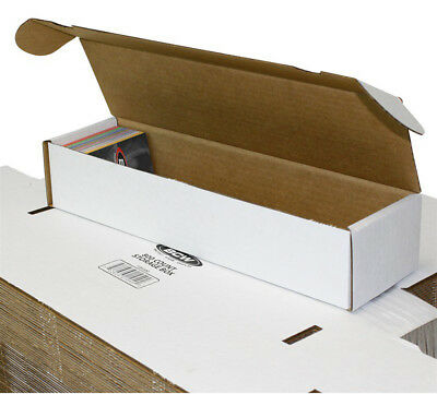 3 BCW 800 COUNT CARDBOARD CARD STORAGE BOXES Trading Sports Case Baseball MTG 3