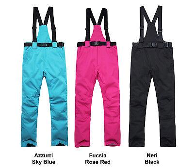 Completo Neve Tuta Sci Donna Giubbotto Set 2 pz Windproof Ski Suit Set CMSW10 P 7