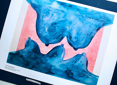 Beautiful Blue Is Louise Bourgeois 2018 Gallery Poster 2