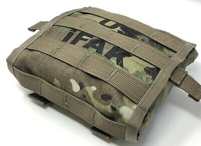 USGI IFAK II Military Individual First Aid Kit Medical Field Gear Complete Pack 7