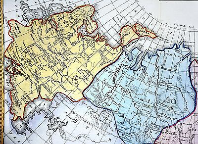 1839 BELL ATLAS Map - Russian Empire - Europe Asia Siberia Tobolsk ...