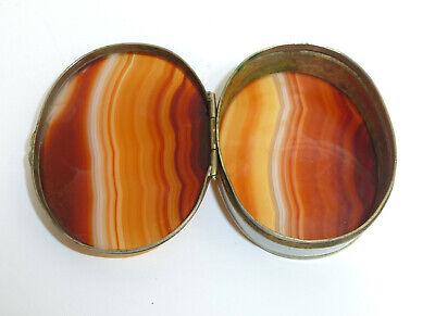 Pill Box um 1900 Can Agate 4