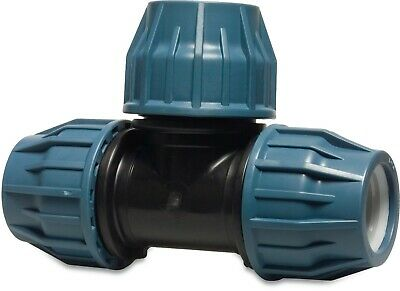 MDPE Plastic Compression End Cap PE100 MDPE Water Pipe WRAS Approved 5