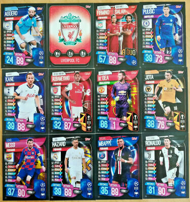 Match Attax 2019/20 19/20 Base Cards - Team Badges Duo Cards - Champions League 2