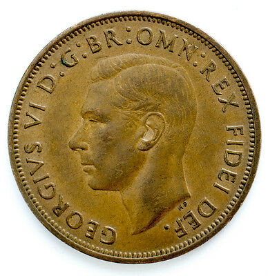 1937 To 1951 George Vi Penny / Pennies Choice Of Year / Date 3