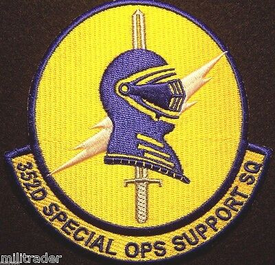 USAF Air Force 352nd Special Operations Ops Support Squadron Patch