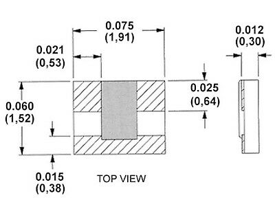 1.6mm×0.8mm 500pcs 510 ohm Ω 510R 511 5/% 1//10W 0.1W SMD Chip Resistor 0603 1608