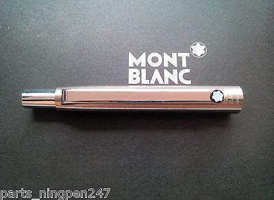 1X Montblanc Slim Line Ballpoint No.2932 Stainless Steel Cap Part Pen NOS 4