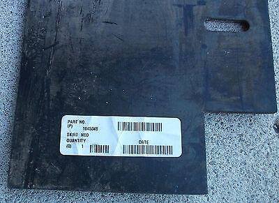 Tennant Part 1045348 Black Rubber Skirt Neo 18, 06.74W 50.00L, 04/ Sl 4