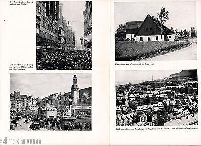 Sachsen 1935 Photos + Buch-Kapitel Hohnstein Zittau Bautzen Dresden Erzgebirge