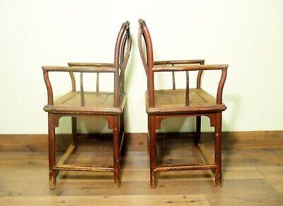 Antique Chinese Ming Arm Chairs (5730) (Pair), Circa 1800-1849 10