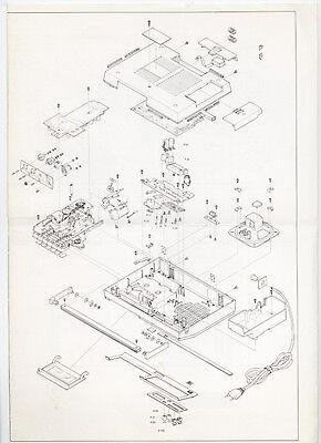 Normende - 6400H Galaxi-Astrocorder  Service Information  ( Original Book ) 2