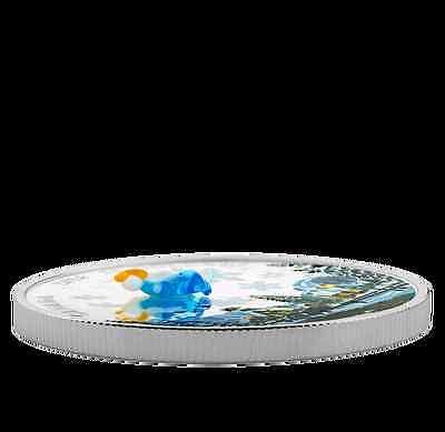 2016 Canada 1 oz Fine Silver Coin, Venetian Murano Glass, Angel, No SaleTax 3