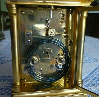 Antique  Couaillet  French Repeater Carriage Clock Around 1870/1900 8