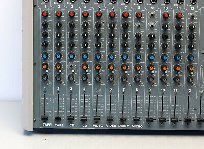 Power Desk Zeck PD-12 PD12 Mischpult Power-Mixer DJ Pult
