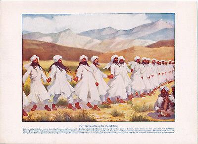 Nord-Indien India Sitten der Völker 1912 orig. Kapitel mit 43 Photodrucken Hindu
